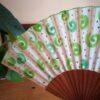 abanico espirales verde